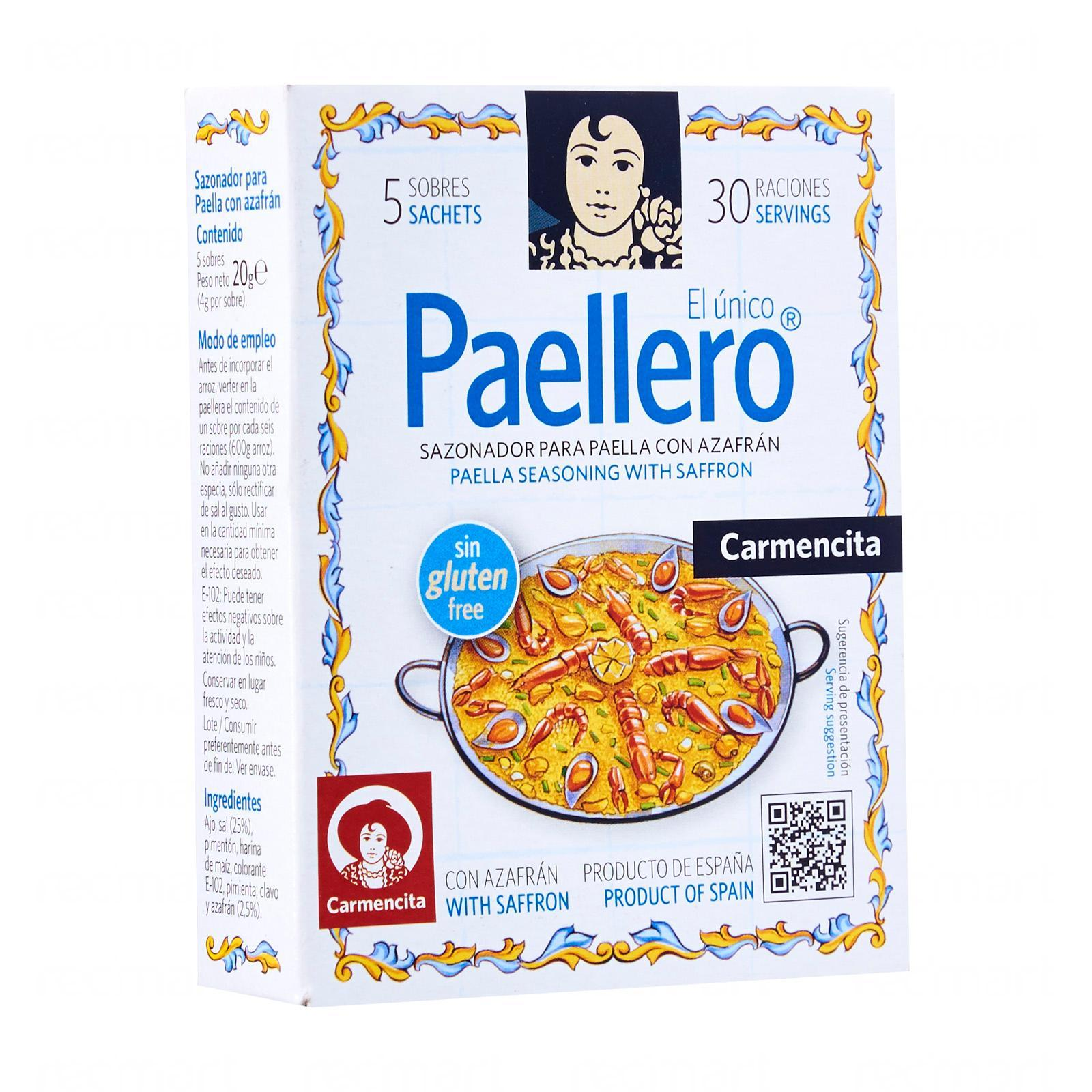 Carmencita Traditional Paella Seasoning 5 Sachets