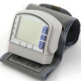 Discount Digital Lcd Wrist Cuff Arm Blood Pressure Monitor Heart Beat Meter Machine Oem