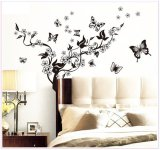 Best Price Diy Butterfly Art Vinyl Quote Wall Sticker Decal Home Room Decor Flower Vine New