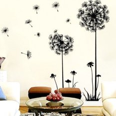 Compare Price Diy Home Decor Dandelion Fly Mural Removable Decal Room Wall Sticker Vinyl Art On China