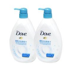 Cheap Dove 1000Ml Gentle Exfoliating Shower Cream X 2 Online