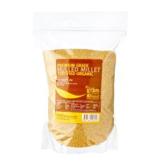 Buy Dr Gram Organic Hulled Millet 1Kg 2 Packets On Singapore