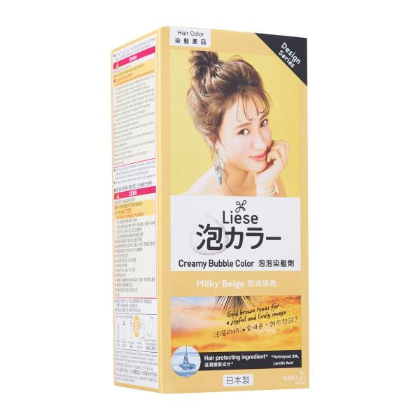 Buy LIESE Design Series Creamy Bubble Hair Color Milky Beige Singapore