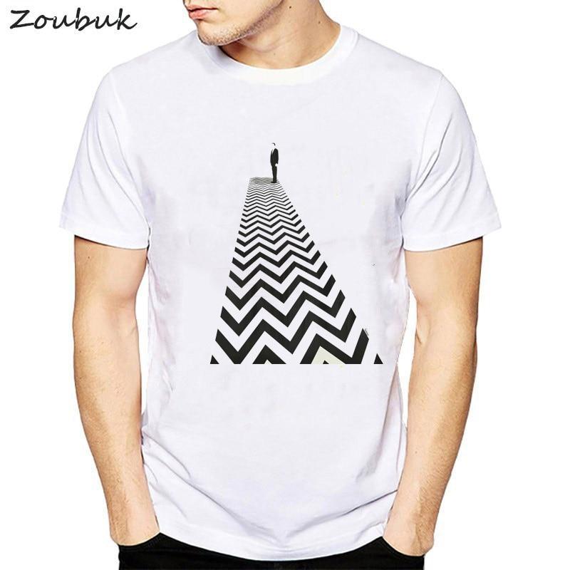 fbaa2980 Twin Peaks t shirt Men Tshirt Retro Laura Palmer Fire Walk With Me Printed T -