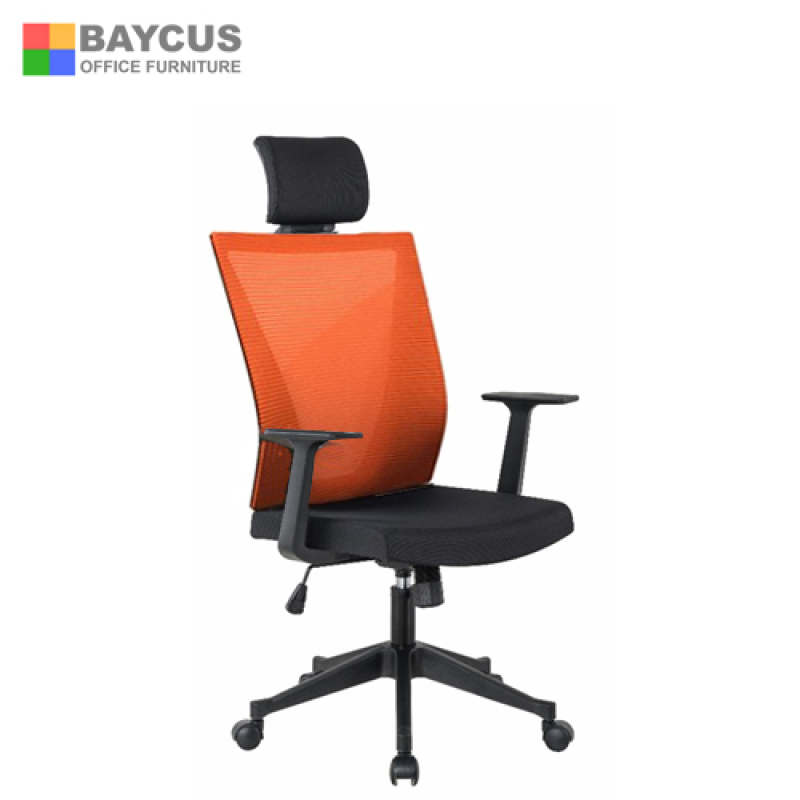 High Back Office Mesh Chair; Baycus Office Mesh Chair; Ergonomic Mesh Chair with Headrest Singapore