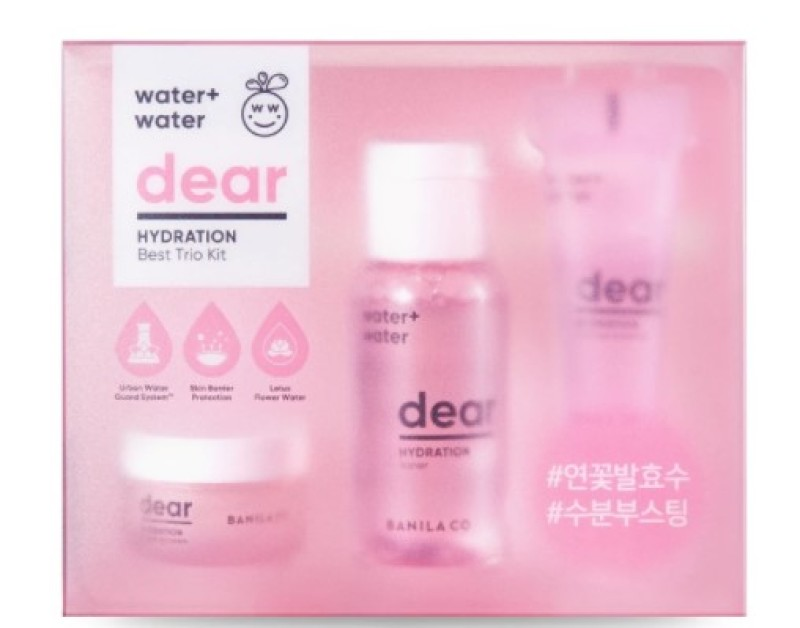 Buy BANILA CO Dear Hydration Best Trio Kit Singapore