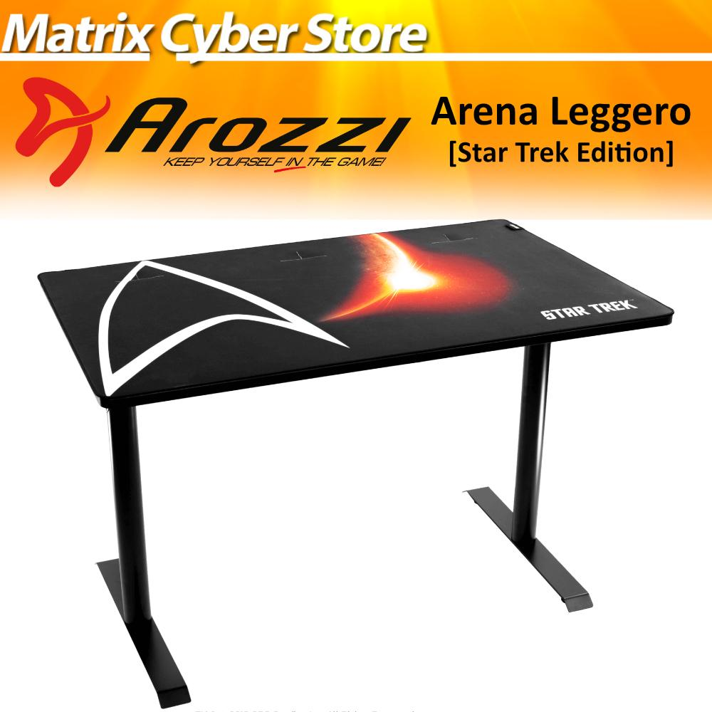 Arozzi Arena Leggero Star Trek Edition Gaming Table