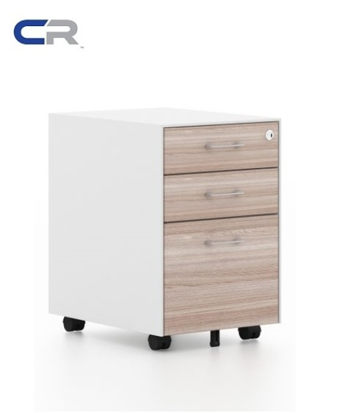 *SG EX STOCKS* Metal+Wood Storage Mobile Pedestal Drawers 2D+1F (HIGH QUALITY & UNIQUE)