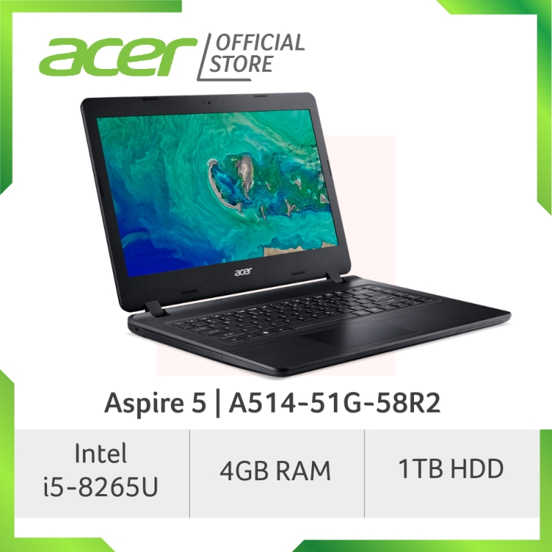 Acer Aspire 5 A514-51G-58R2 14-Inch HD laptop with 1TB HDD