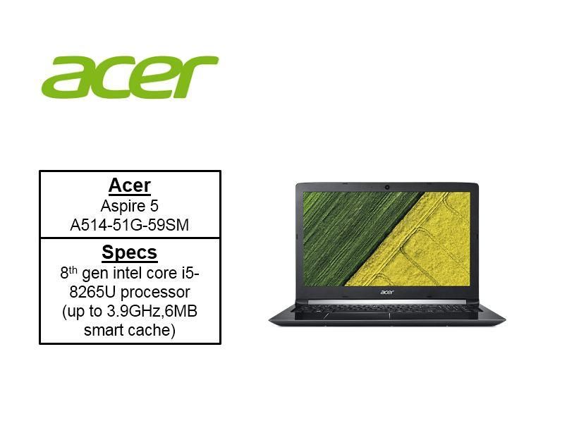 Acer Aspire 5 A514-51G 2-IN-1s Laptops A514-51G-59SM