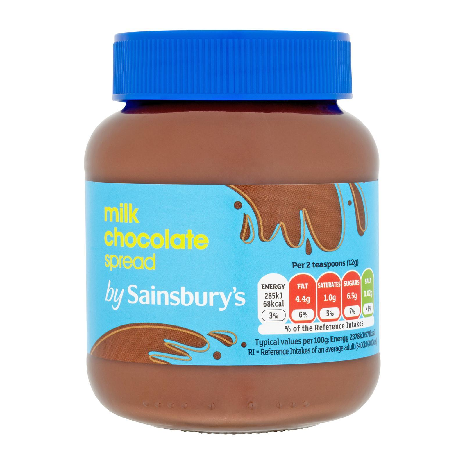 Sainsbury's Milk Chocolate Spread Chocolate