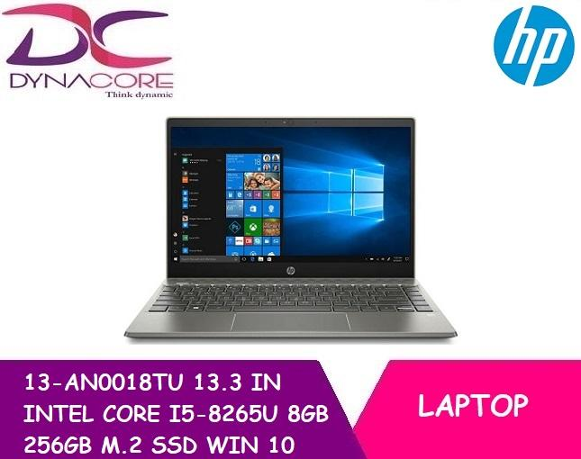 HP PAVILION 13-AN0018TU (5KM89PA) 13.3 IN INTEL CORE I5-8265U 8GB 256GB M.2 SSD WIN 10