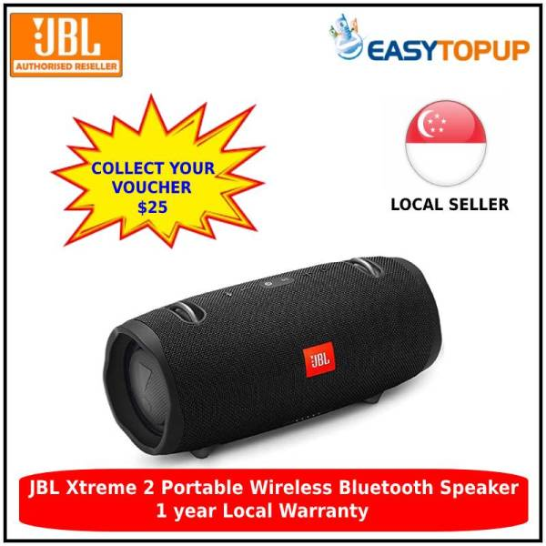 JBL Xtreme 2 Portable Wireless Bluetooth Speaker  with enjoy $25 off collectable voucher Singapore