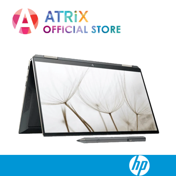 【Same Day Delivery】HP Spectre x360 Convertible 13-aw0177TU | 13.3 UHD 4K Touch | i7-1065G7 | 16GB RAM | 1TB PCIe SSD | Win 10 | Ready stock, delivery by today