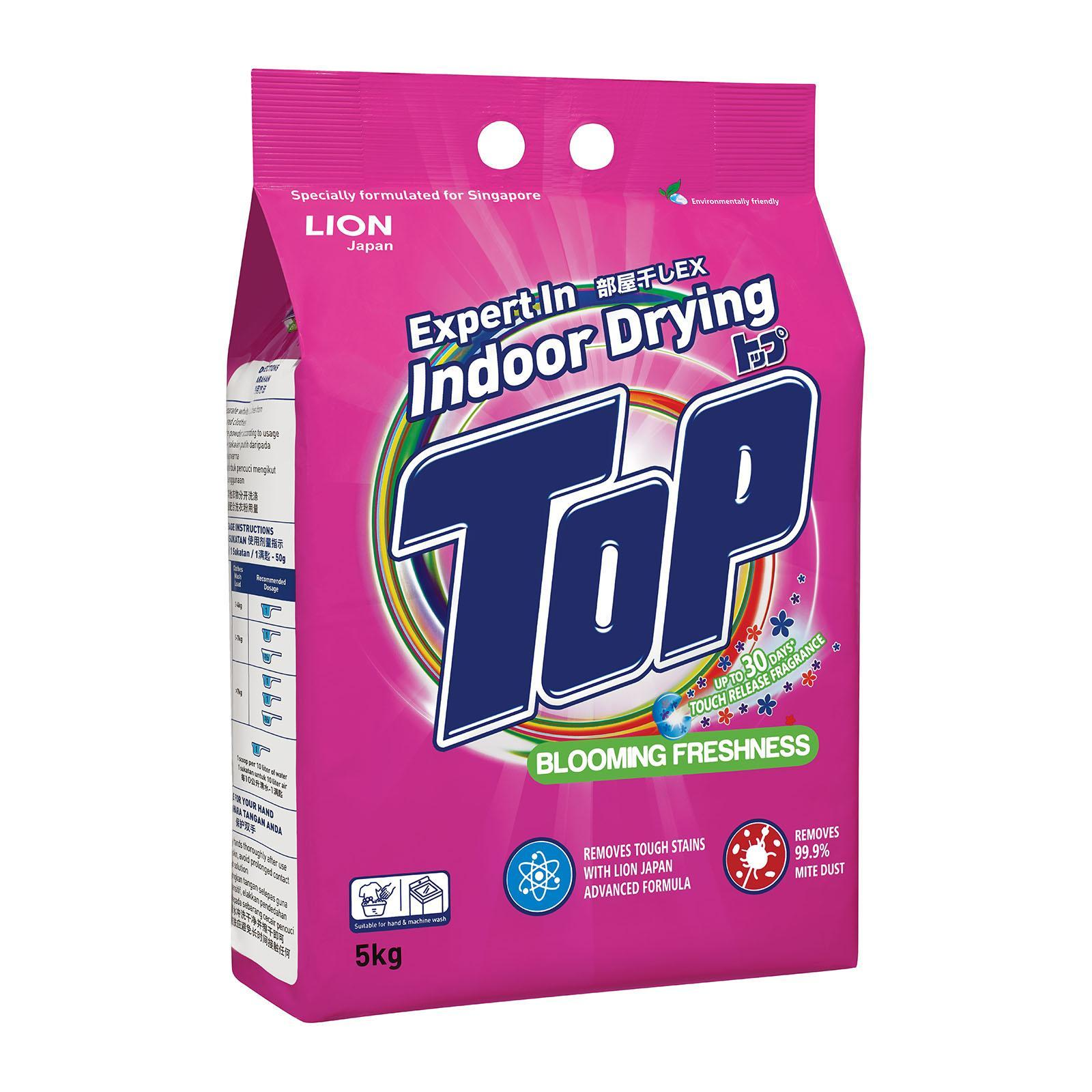 Top Indoor Drying - Blooming Freshness - Powder Detergent