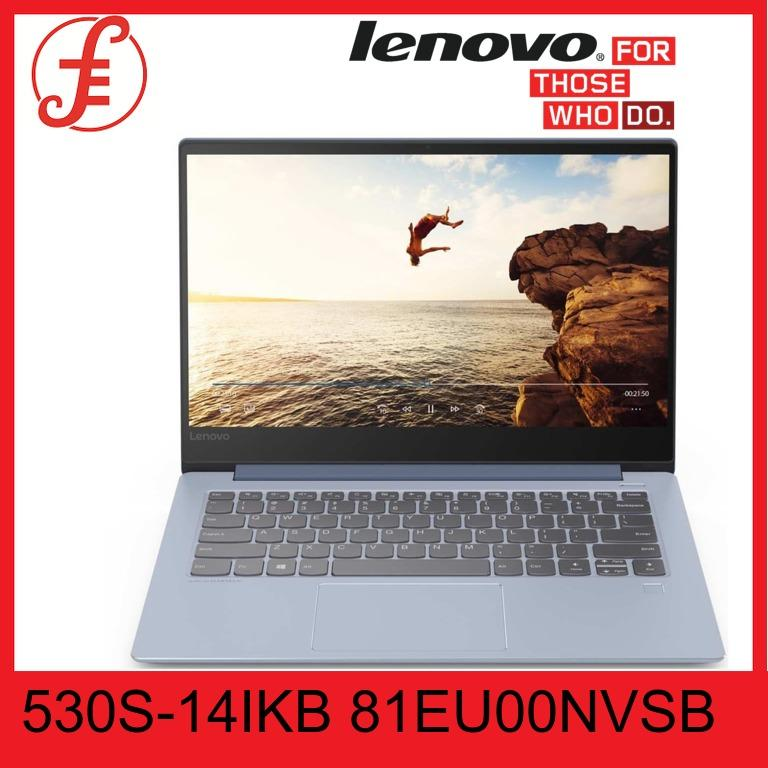LENOVO 530S-14IKB 81EU00NVSB 14 IN INTEL CORE I5-8250U 8GB 512GB SSD WIN 10 (81EU00NVSB)
