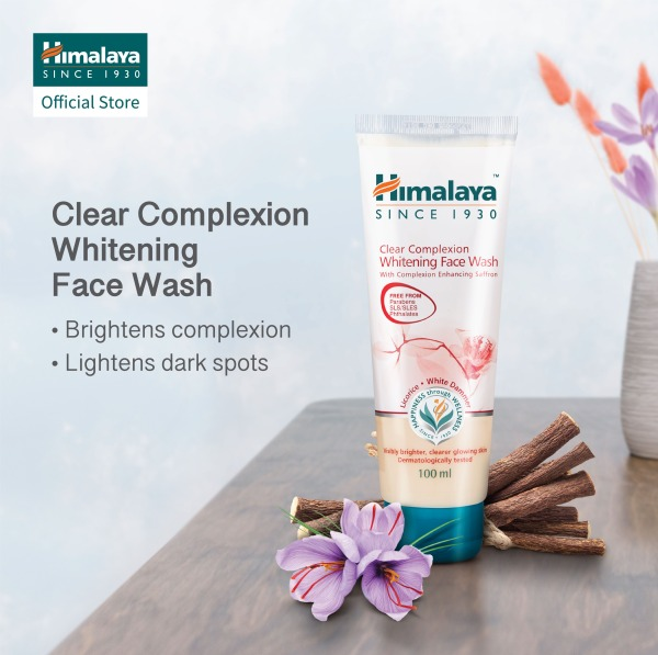 Buy [1x150ml] or [2x100ml] Himalaya Clear Complexion Whitening Face Wash Singapore