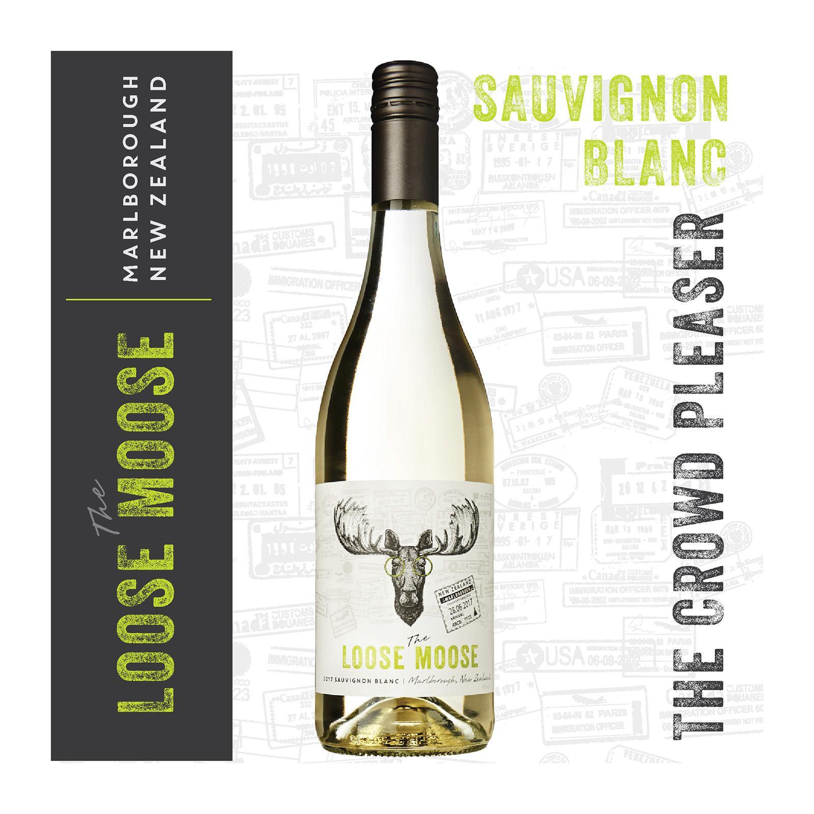 The Loose Moose Marlborough Sauvignon Blanc White Wine