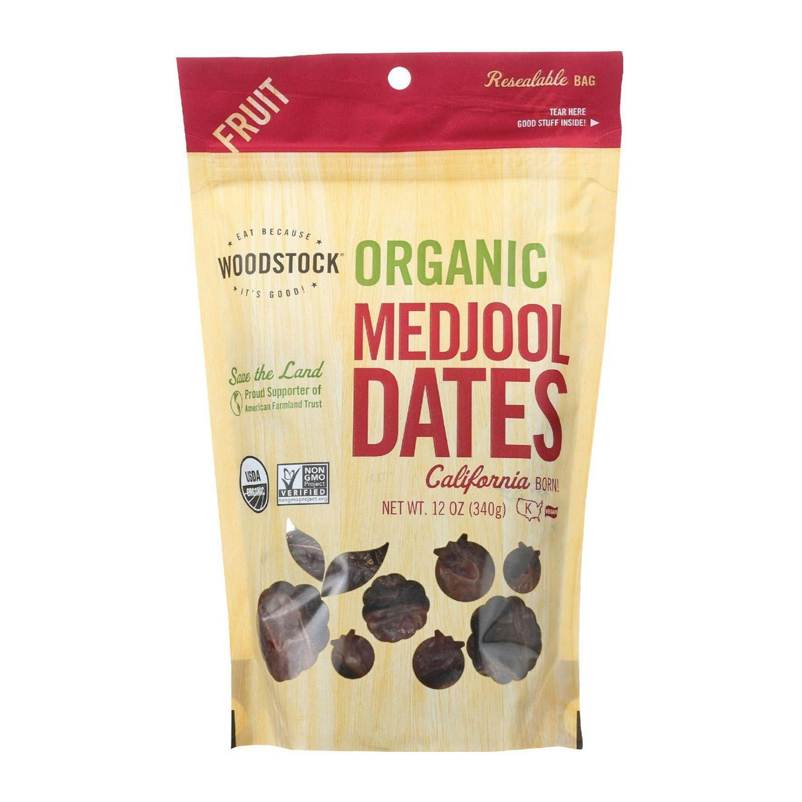 Woodstock Organic Medjool Dates - By Wholesome Harvest