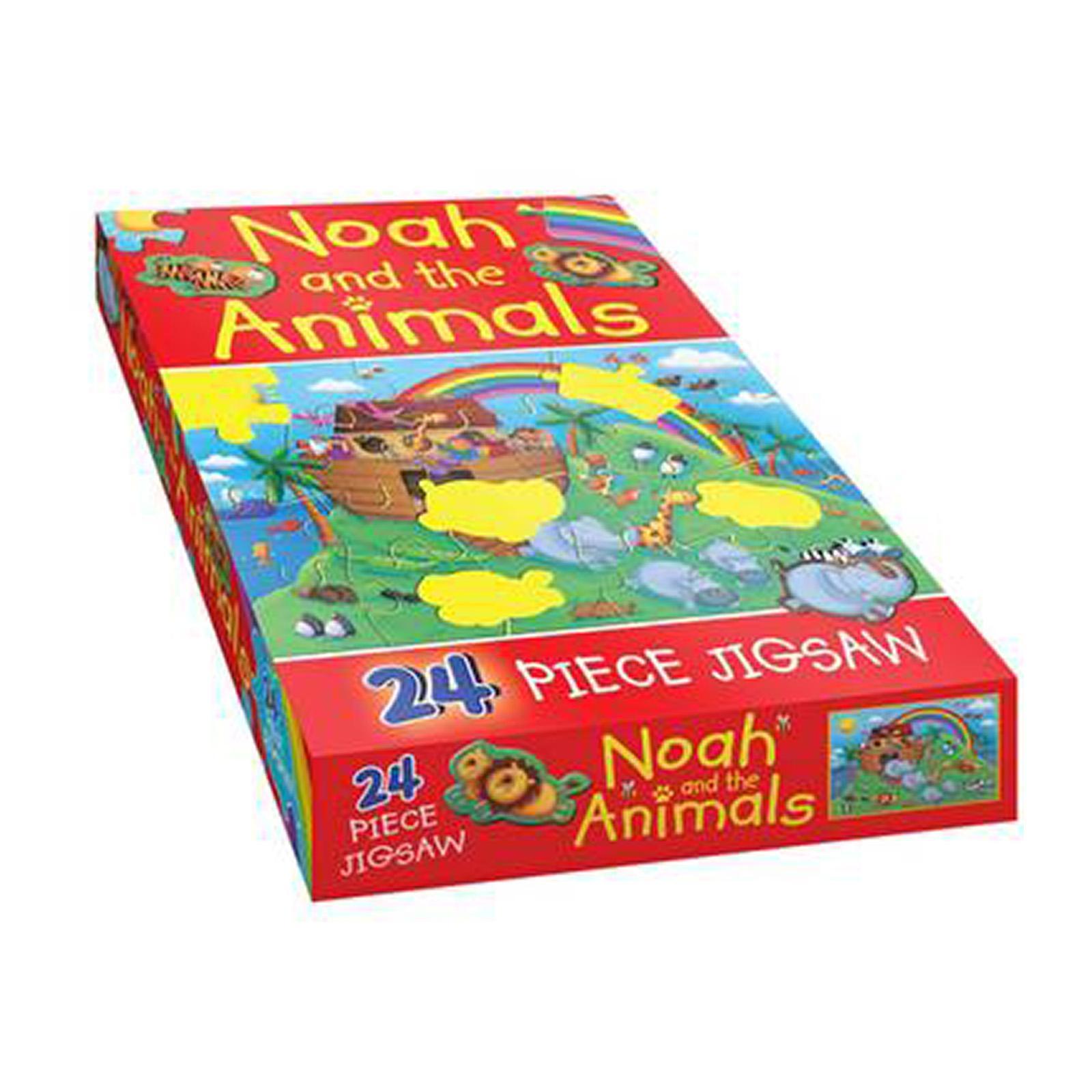 Noah And The Animals: 24 Piece Jigsaw