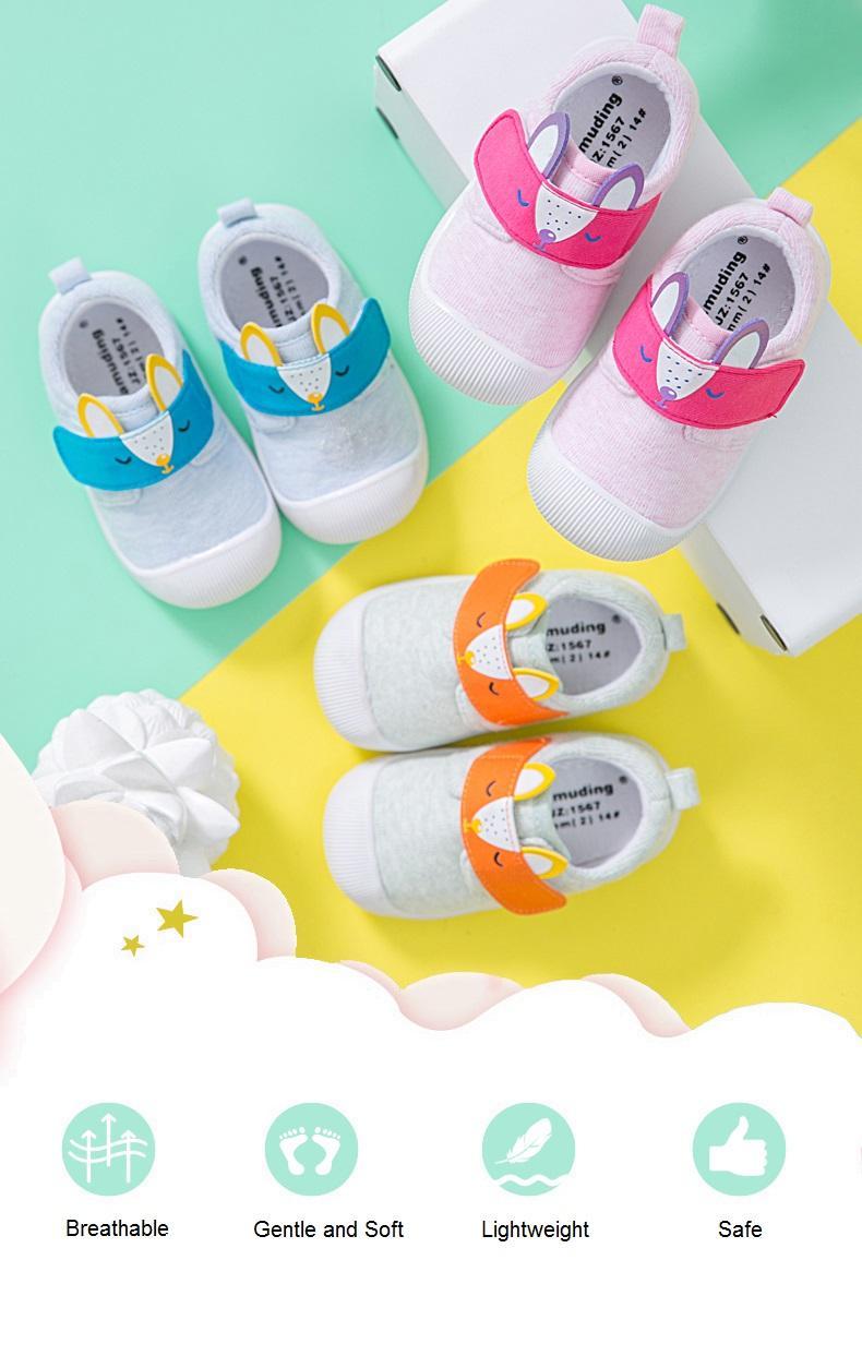 ***Cartoon*** Baby Walking Shoes