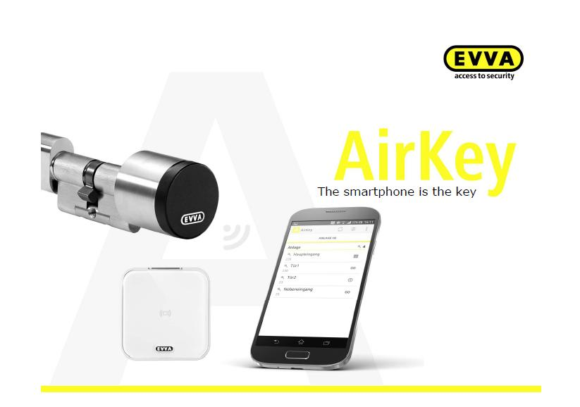 YOUR SMARTPHONE IS THE KEY. EVVA AIRKEY CYLINDER LOCK. FREE INSTALLATION IN SINGAPORE!
