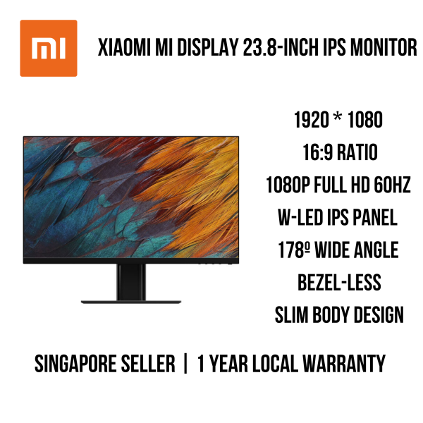 Xiaomi Mi Display 23.8 Inch Gaming / IPS Monitor Full HD 1080p HDMI