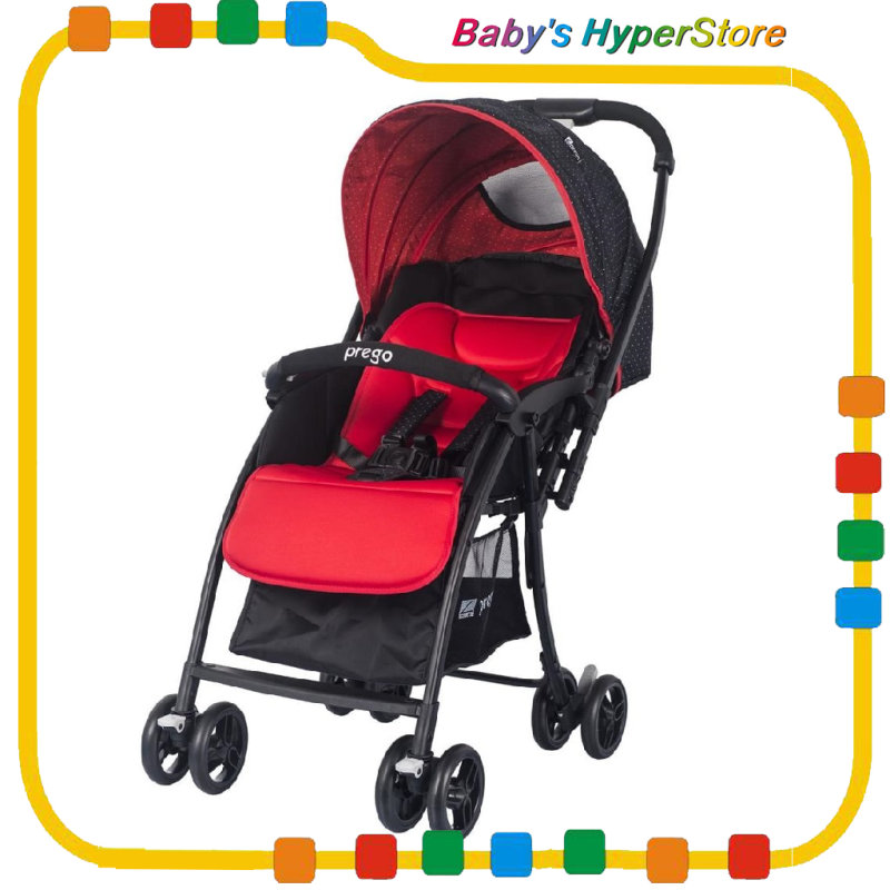 Prego S507 Reversible Handle Stroller (newborn-18kg) Singapore