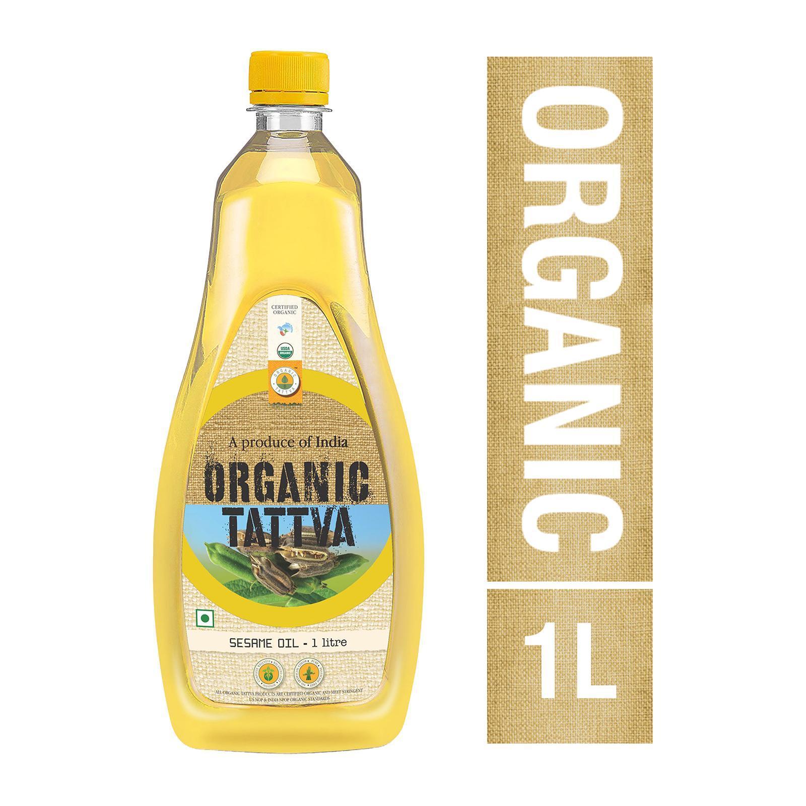 Organic Tattva Organic Sesame Oil By Redmart.
