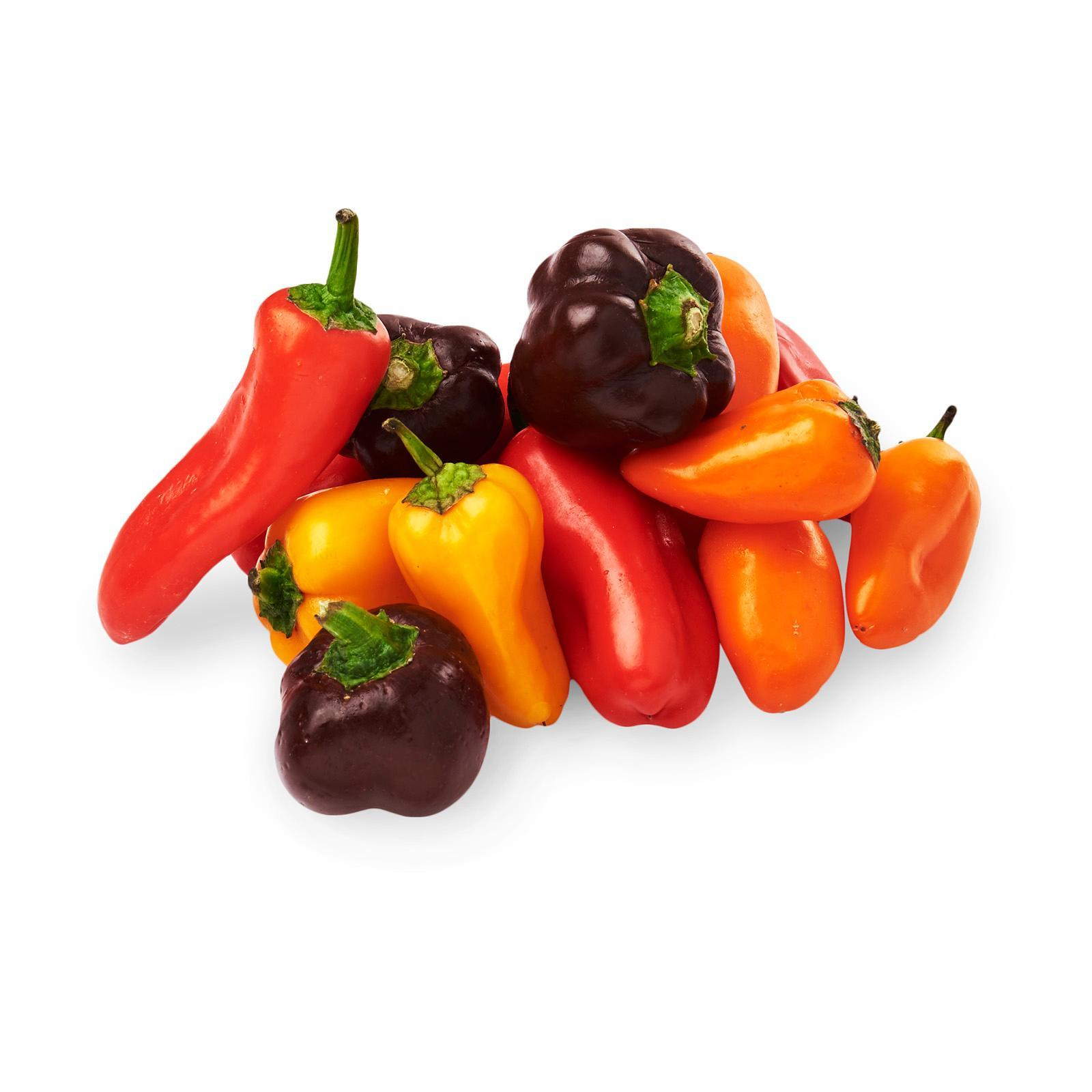 Del Cabo Organic Sweet Petite Pepper Medley By Redmart.