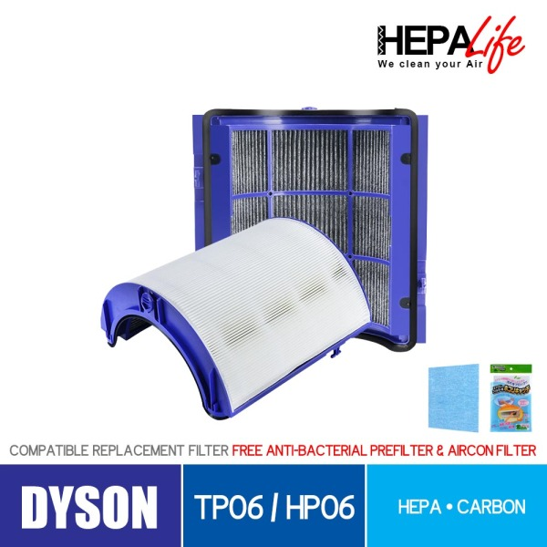 Dyson TP06 HP06 Compatible Filter- Hepalife Singapore