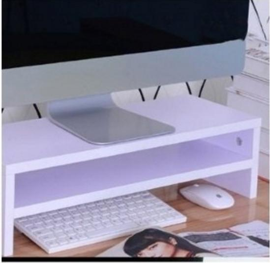 MISSHER Solid Wood Computer Monitor Stand Design 2