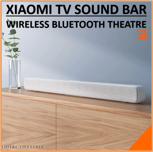 Original Xiaomi Bluetooth TV Sound Bar Wireless Speaker Soundbar Support Optical SPDIF AUX in for Home Theatre Singapore