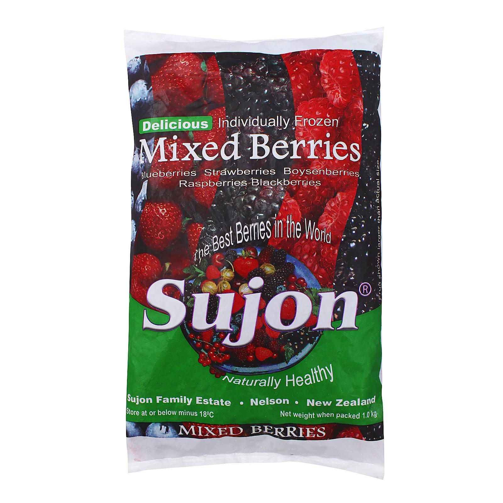 Sujon Mixed Berries Fruits - Frozen By Redmart.