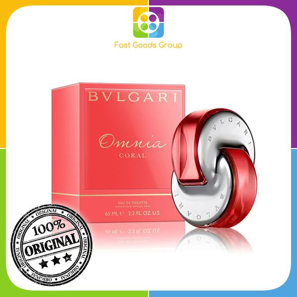Buy [100% Authentic] Bvlgari Omnia Coral EDT Women 65ml Singapore