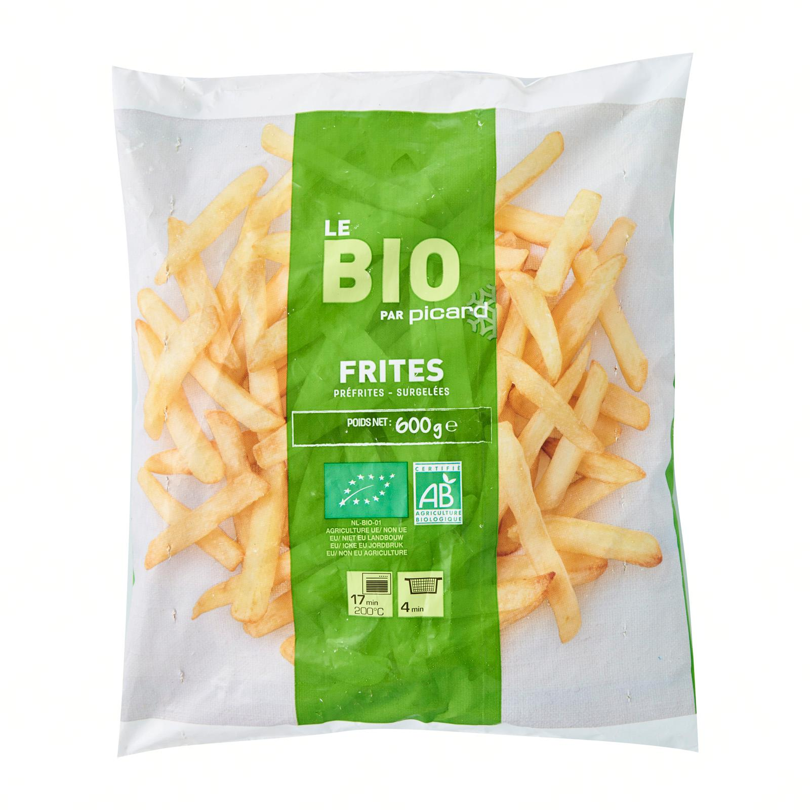 Picard Organic French Fries - Frozen