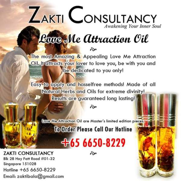 Buy Love Me Attraction Oil Singapore