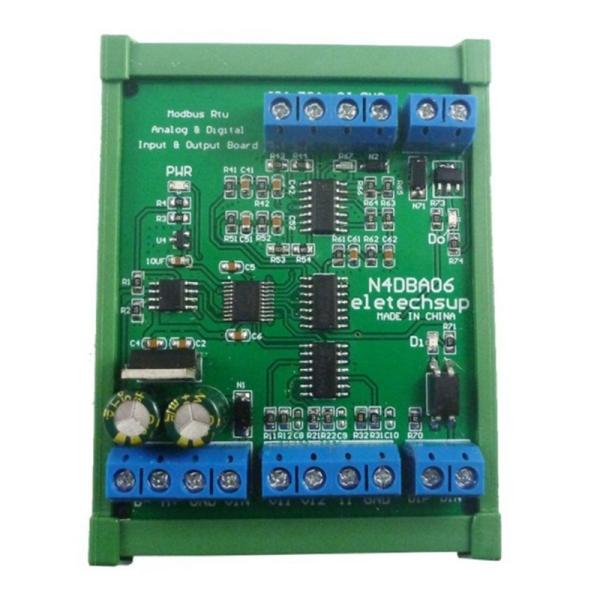 Bảng giá DC 12V 8CH Analog Digital Input Output Devices 0-5V 0-10V 4-20MA DAC ADC RS485 Modbus RTU Board Phong Vũ
