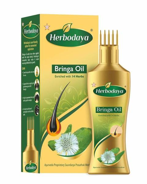 Buy Bhringraj Hair Oil – Enriched with 14 Herbs - 100ml Singapore