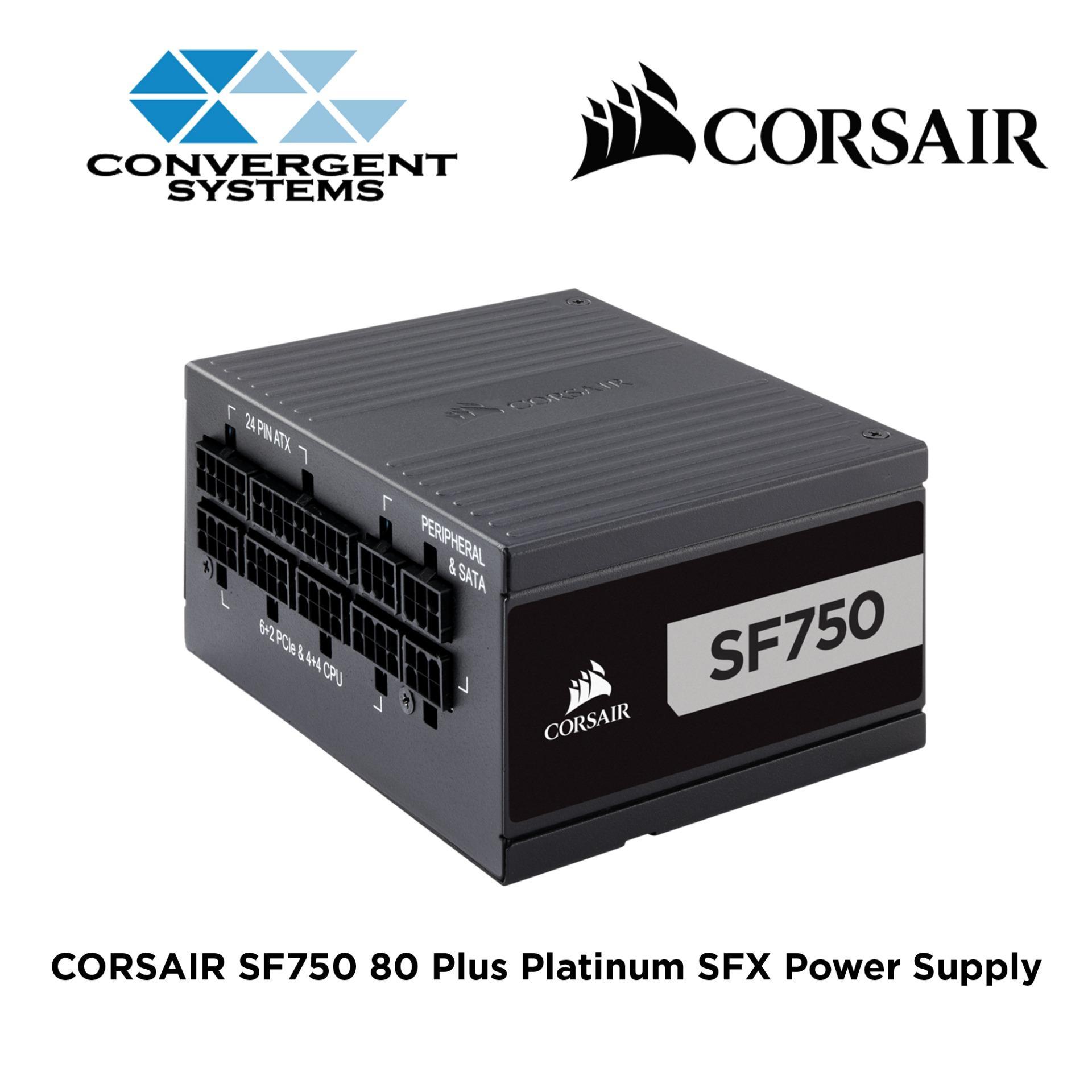 6f2340be2ff CORSAIR SF Series SF750 80 PLUS Platinum High Performance SFX Power Supply
