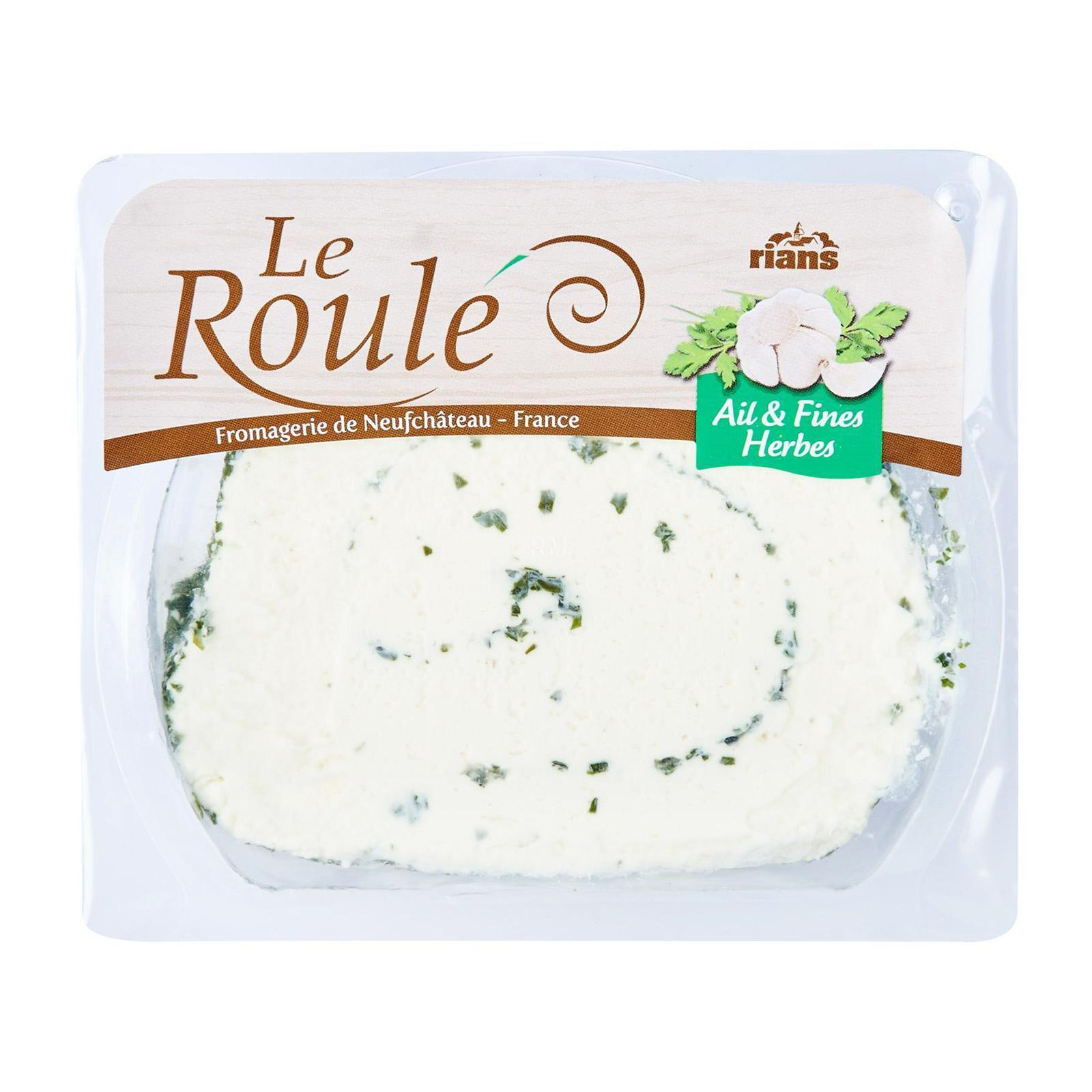 Rians Le Roule Garlic And Herbs Cheese Spread