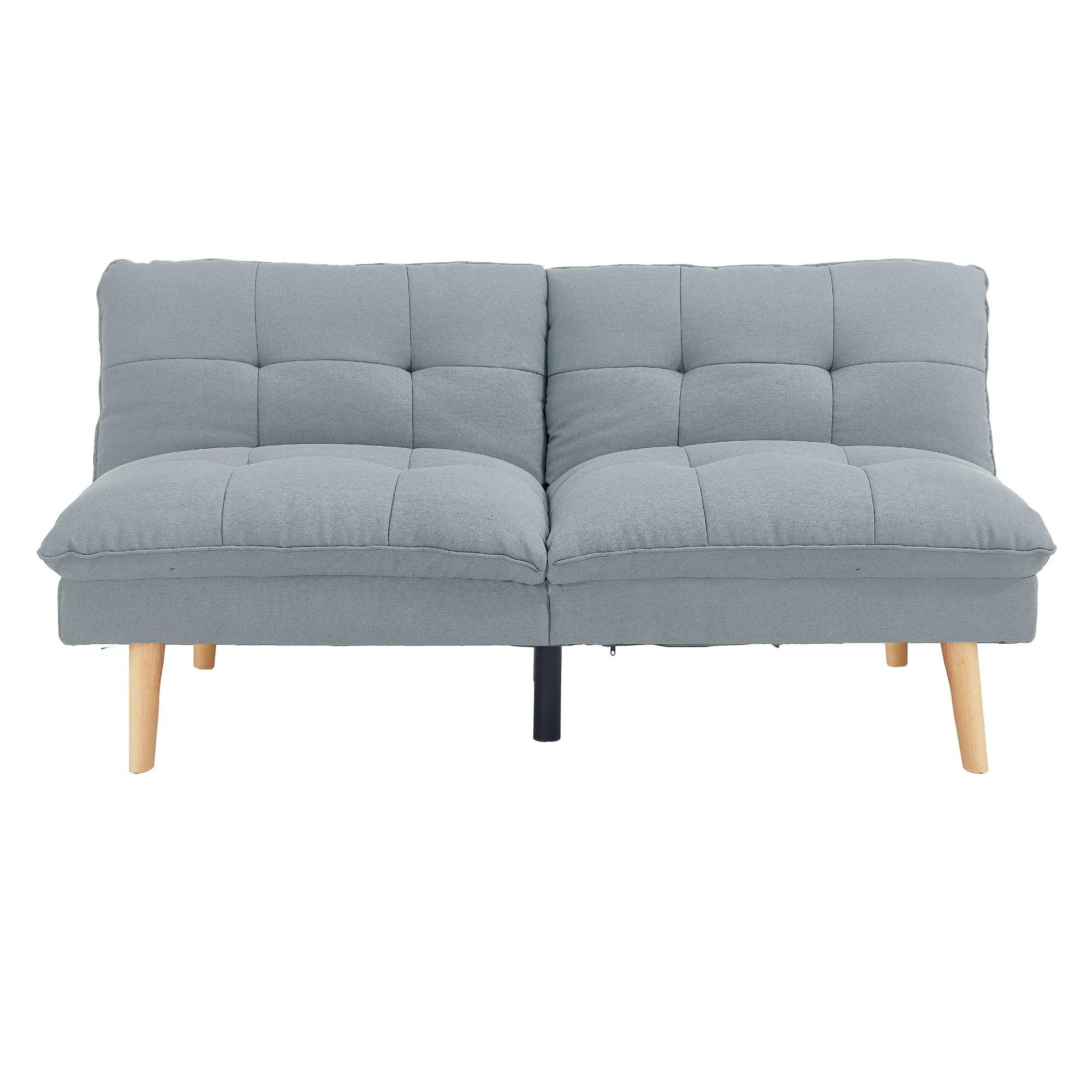 HipVan Jen Sofa Bed - Silver