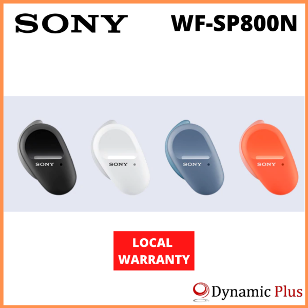 Sony WF-SP800N Noise Cancelling Truly Wireless Sports Earbuds Singapore