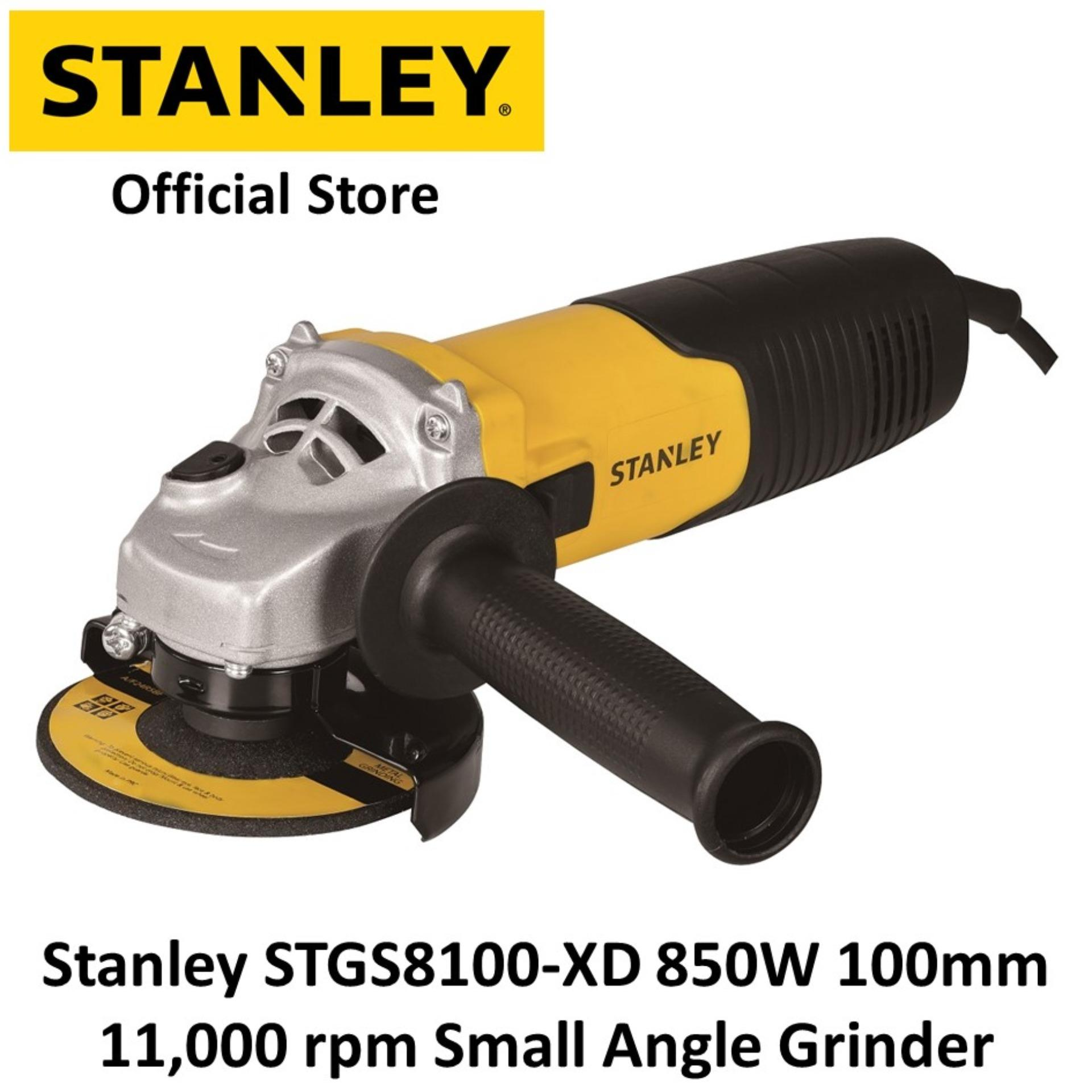 Stanley STGS8100-XD 850W 100mm 11,000 rpm Small Angle Grinder