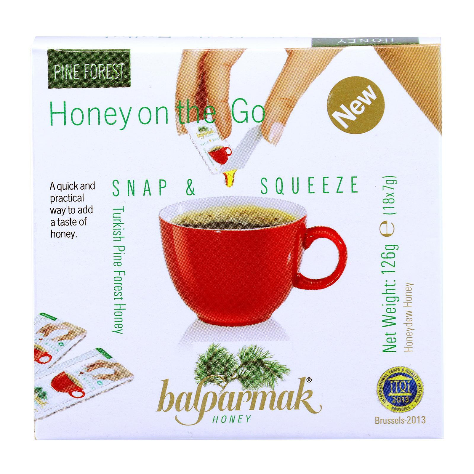 Balparmak Snap and Squeeze Honey 18s - By Nature's Nutrition