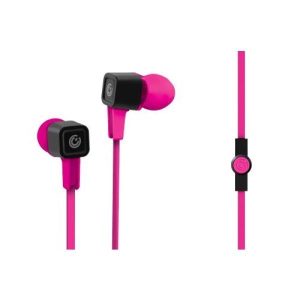 Sonic Gear Airplug 300 Neo In-Ear Earphones With Mic (Pink/Orange) Singapore
