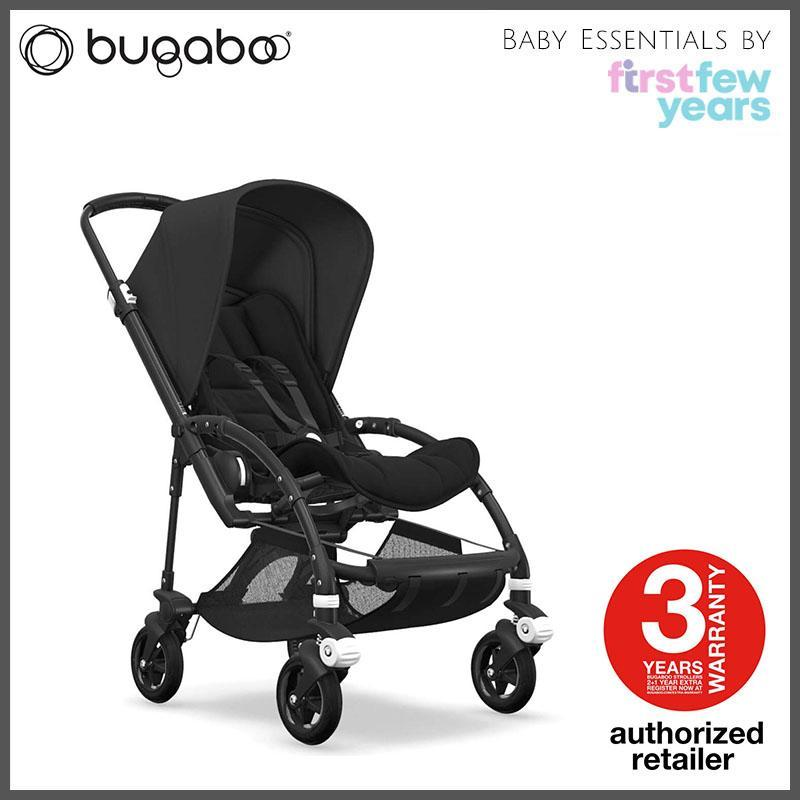 Bugaboo Bee 5 (Black Chassis, Style Set, Canopy) - By First Few Years Singapore