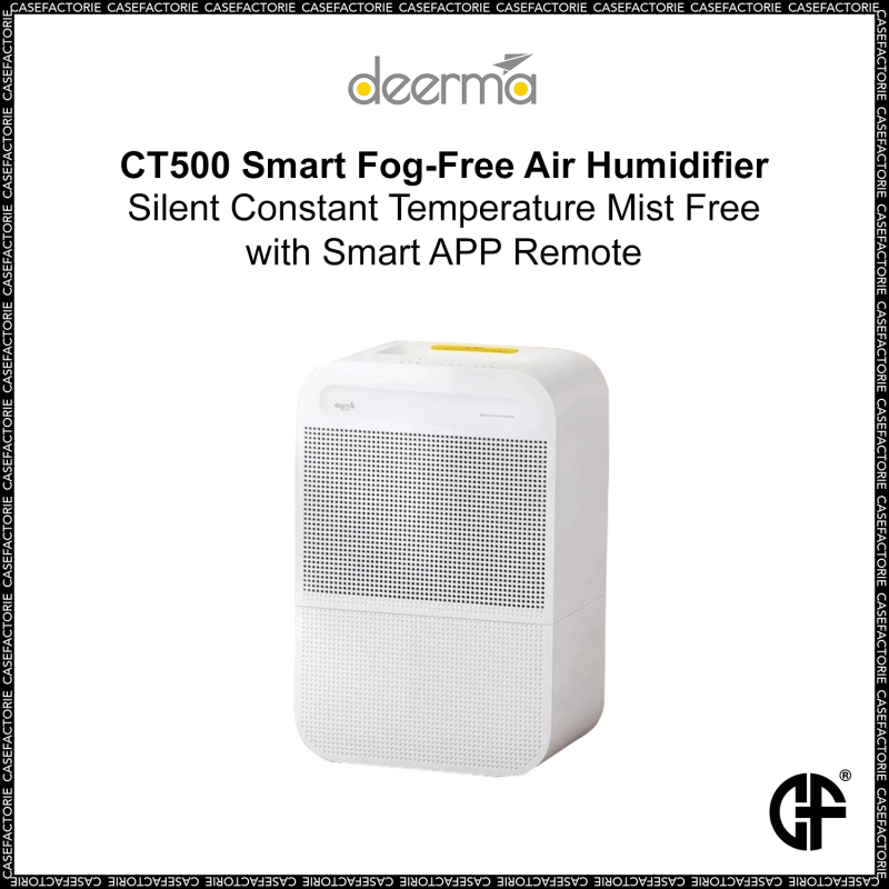 Xiaomi Deerma CT500 Smart Fog-Free Air Humidifier Silent Constant Temperature Mist Free with Smart APP Remote Singapore