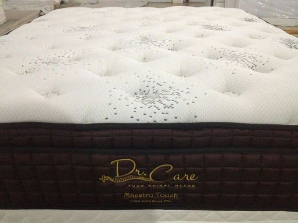 FACTORY OUTLET Dr Care Memory Foam Euro Top 5 Zone Indivdual Pocket Spring Mattress