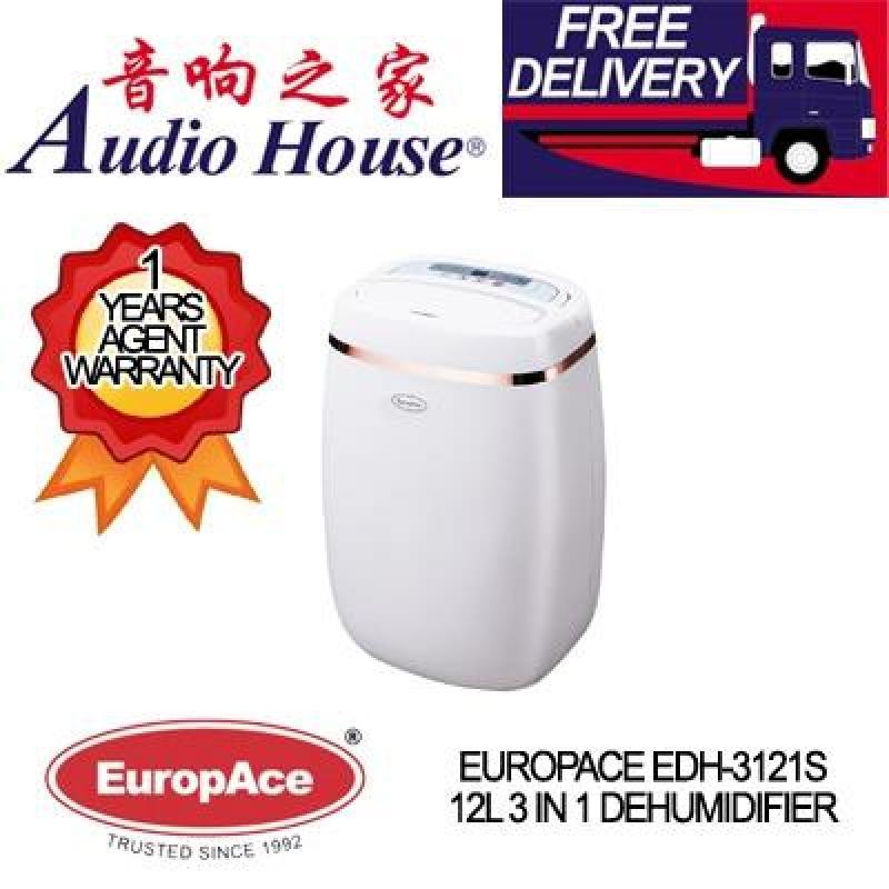 EUROPACE EDH-3121S 12L 3 IN 1 DEHUMIDIFIER ***1 YEAR EUROPACE WARRANTY*** Singapore